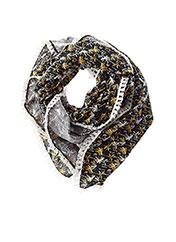Foulard noir CHIPIE pour fille seconde vue