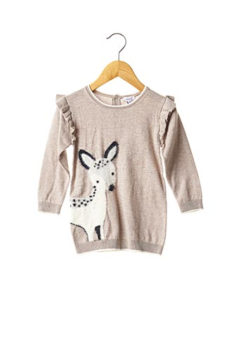 Robe pull gris ABSORBA pour fille