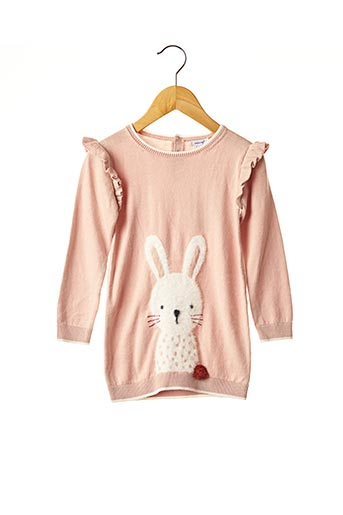 Robe pull rose ABSORBA pour fille