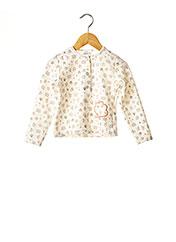 Veste casual beige ABSORBA pour fille seconde vue