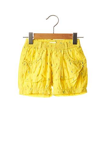 Short jaune CATIMINI pour fille