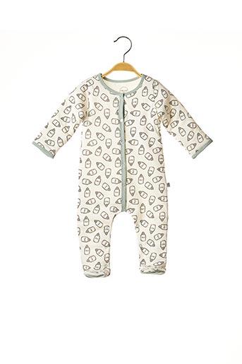 Pyjama blanc ABSORBA pour garçon
