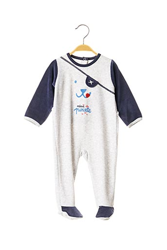 Pyjama gris ABSORBA pour garçon
