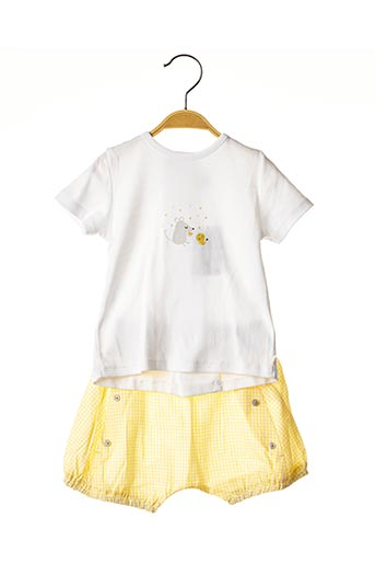 Top/short jaune ABSORBA pour garçon