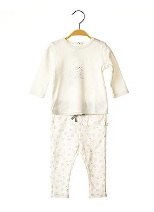 Top/pantalon beige ABSORBA pour enfant