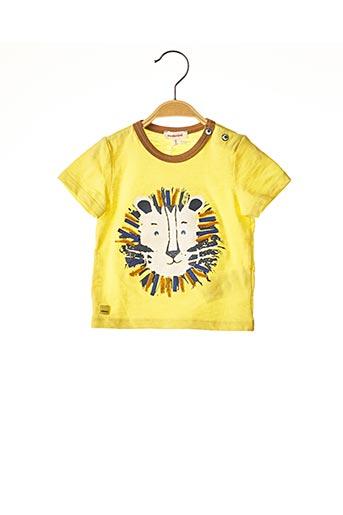 T-shirt manches courtes jaune CATIMINI pour garçon