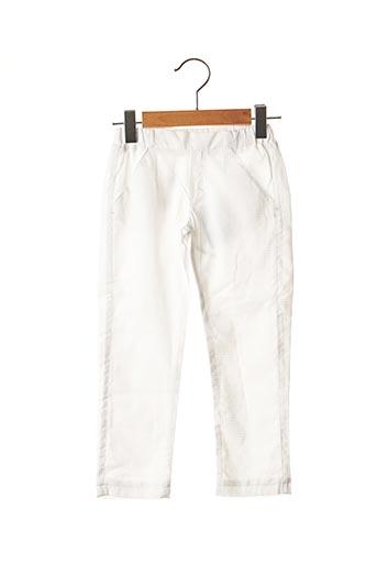 Pantalon chic blanc ABSORBA pour garçon
