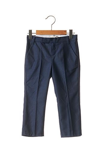 Pantalon chic bleu JEAN BOURGET pour garçon