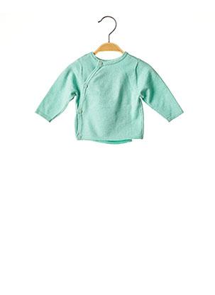 Gilet manches longues vert ABSORBA pour enfant