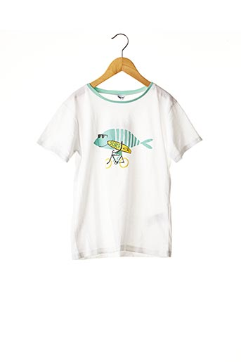 T-shirt manches courtes blanc ABSORBA pour garçon