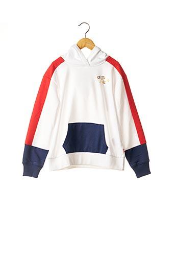 Sweat-shirt blanc LEVIS pour garçon