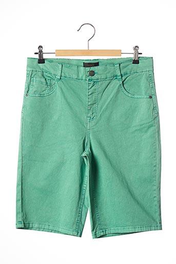 Bermuda vert BECKARO pour garçon