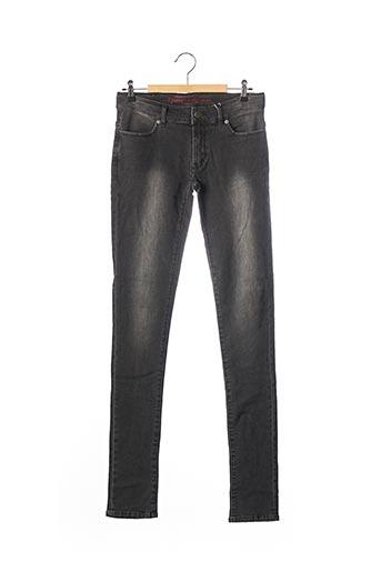 Jeans coupe slim gris CHIPIE pour fille