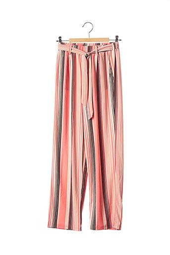 Pantalon casual rose BECKARO pour fille