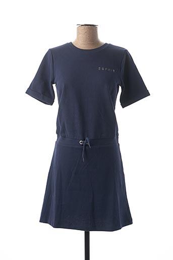 Robe mi-longue bleu ESPRIT pour fille