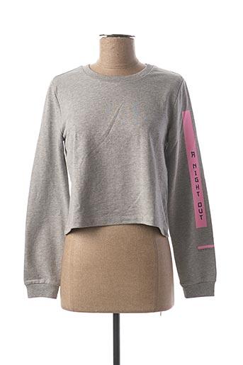 Sweat-shirt gris ESPRIT pour fille