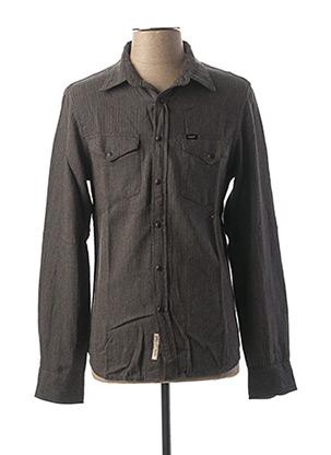 Chemise manches longues gris LEE pour homme