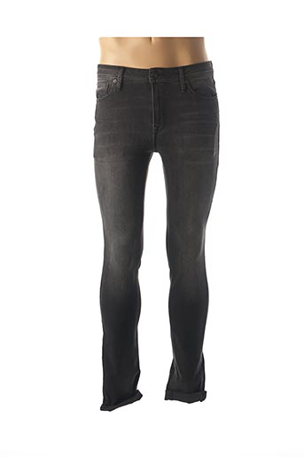 Jeans skinny gris JACK & JONES pour homme