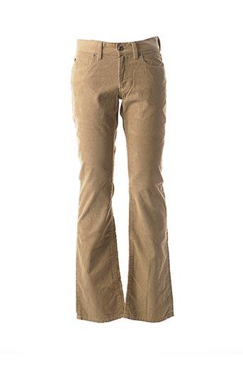 Pantalon casual beige MEXX pour homme
