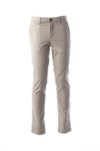 Pantalon casual gris JACK & JONES pour homme