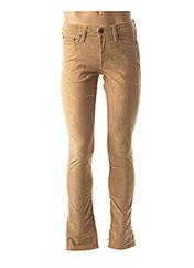 Pantalon casual beige JACK & JONES pour homme seconde vue