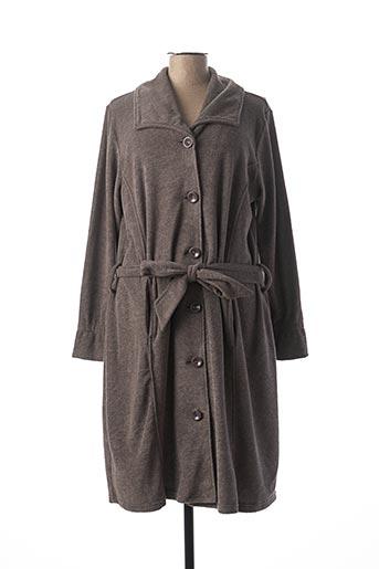 Robe de chambre gris LA PLUS BELLE pour femme