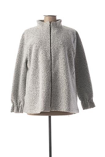 Veste casual gris CANAT pour femme