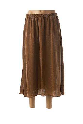 Jupe longue marron SCHOOL RAG pour femme