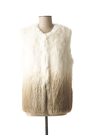 Veste casual beige ANANKE pour femme
