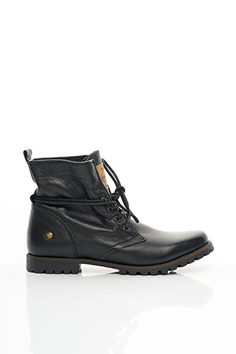 Bottines/Boots noir DOCKERS pour femme