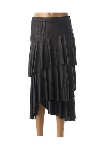 Jupe longue noir CLOANICE pour femme