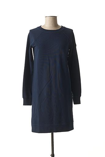 Robe courte bleu FRENCH TERRY 1818 pour femme