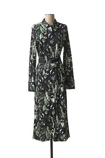 Robe longue vert DESOTO pour femme