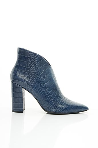 Bottines/Boots bleu BRUNO PREMI pour femme