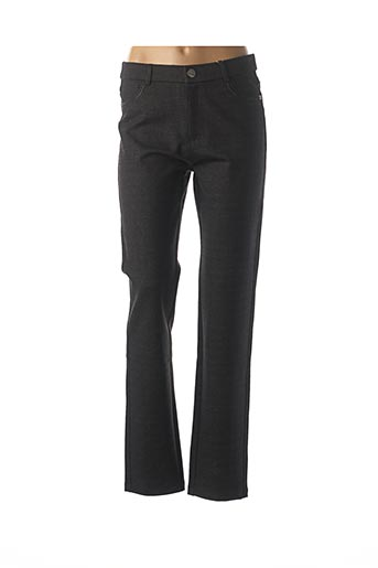 Pantalon casual noir BARILOCHE pour femme