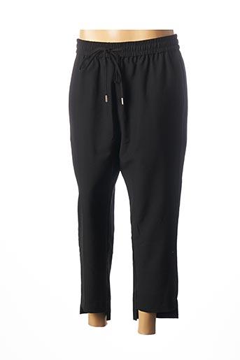 Pantalon 7/8 noir MOLLY BRACKEN pour femme