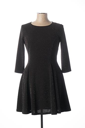 Robe courte noir IMPERIAL pour femme
