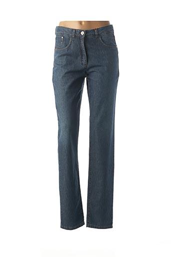 Jeans coupe droite bleu JOCAVI pour femme