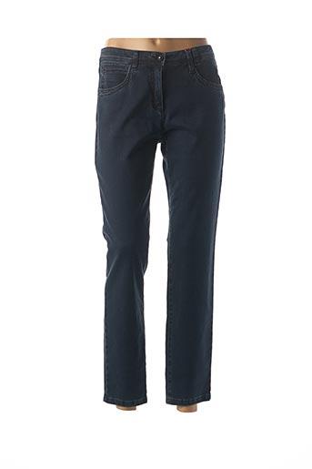 Jeans coupe slim bleu JOCAVI pour femme