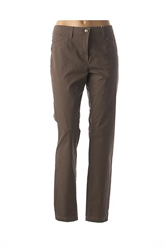 Pantalon casual marron JOCAVI pour femme