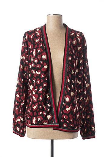 Veste casual rouge C'EST BEAU LA VIE pour femme