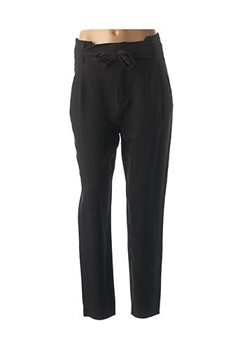 Pantalon chic noir IKKS pour femme