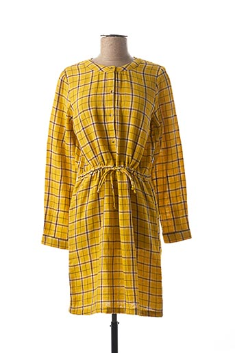 Robe courte jaune NICE THINGS pour femme