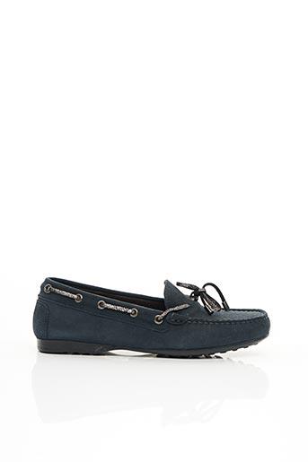 Chaussures bâteau bleu TRIVER FLIGHT pour femme