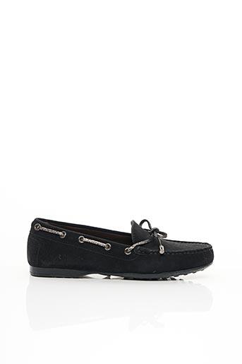 Chaussures bâteau noir TRIVER FLIGHT pour femme