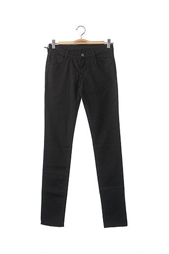 Pantalon casual noir LE TEMPS DES CERISES pour fille
