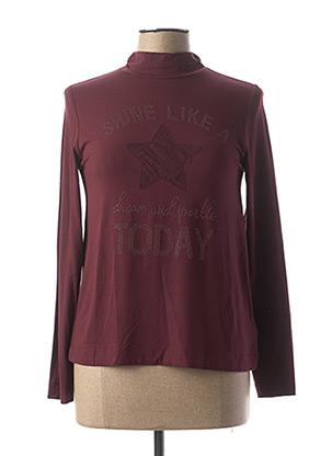 T-shirt manches longues violet MAYORAL pour fille