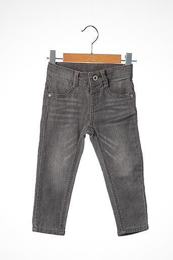 Jeans coupe slim gris 3 POMMES pour garçon