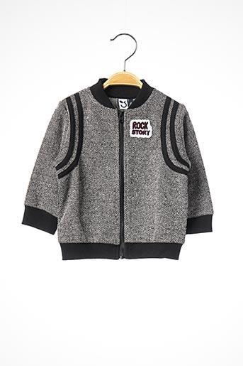 Veste casual gris 3 POMMES pour garçon
