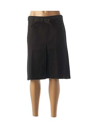 Jupe mi-longue noir BELLEROSE pour femme